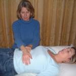 A Reiki Hand Position